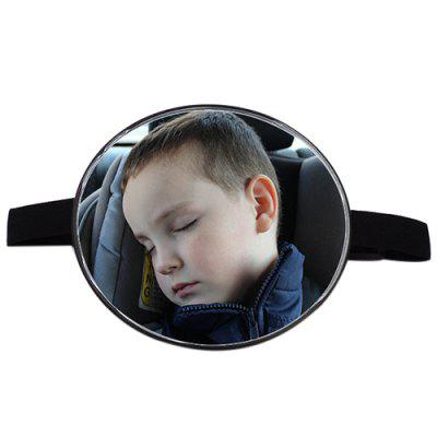 Adjustable Round Rear Back Seat Baby Child Car Safety Rearview Mirror Headrest Safety Monitor