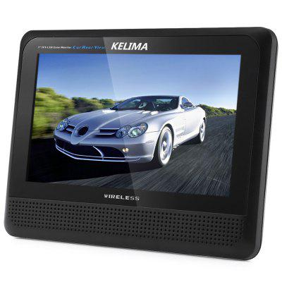 KELIMA 698 Wireless Rear View Infrared Camera and 7 inch Monitor Display