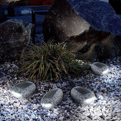 Stone Shape LED Waterproof Solar Lawn Light Lámpara de exterior