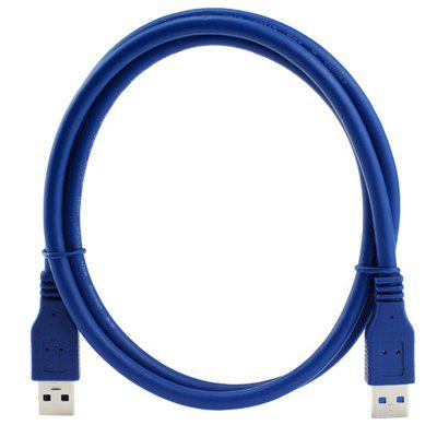 CY U3 - 001 New Super USB 3.0 Standard A Type Male to Male Cable 1m