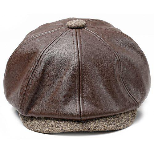 41f9847c8c0 JAMONT Male Fashionable Simple Leisure Beret -  8.78 Free Shipping ...