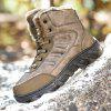 Men's Trendy Durable Warm High Top Slip-on Boots - TAN