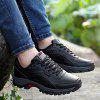 Men Sports Shoes Warm Casual Lace Up - RED