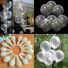 Round Transparent Latex Balloon for Party Decoration 100pcs - TRANSPARENT