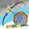 9806 Soft Bow Arrow Toy Set - MULTI-A
