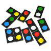 Magic Tricks Solitaire Color Predictie Domino Prop Toy Set - NEGRU
