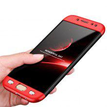 360 Degree Full Covered Three-piece Splicing Phone Case for Samsung J7 - 2017 /
