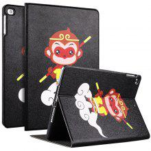 Stylish PU + PC Painting Tablet Cover for iPad mini 3