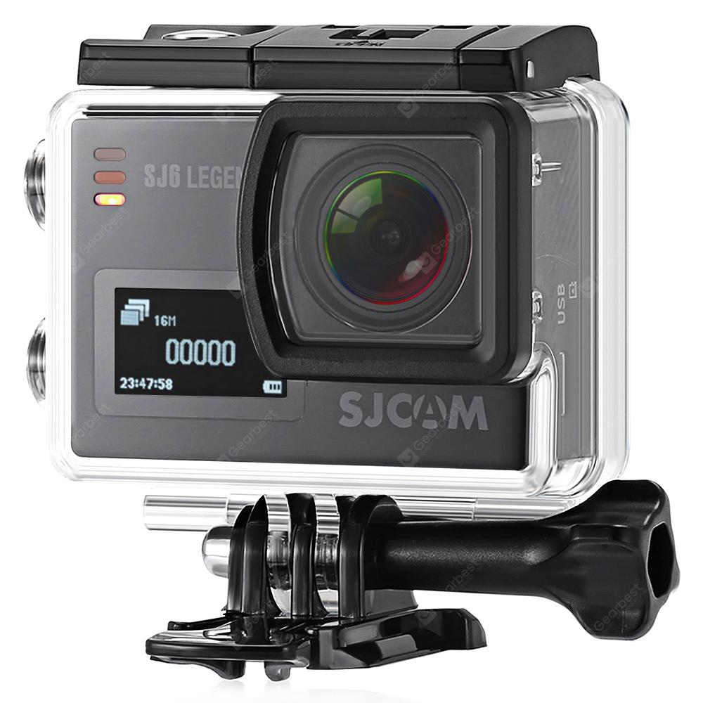 Original SJCAM SJ6 LEGEND 4K WiFi Action Camera - BLACK