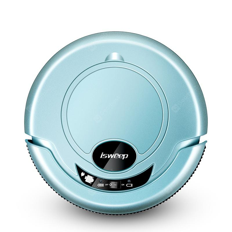 Isweep S320 Robotic Automatic Intelligent Cleaning Robot with 4 Working Modes - BABY BLUE