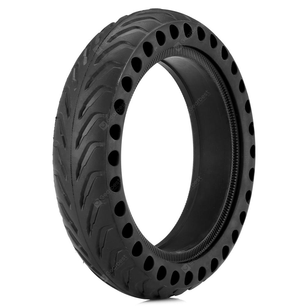 Gocomma Solid Tire for Xiaomi M365/Alfawise M1 Electric Scooter - Black