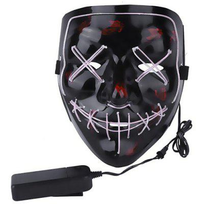 Halloween EL Wire Ghost Masque Froid LED Masque Masque Jouet