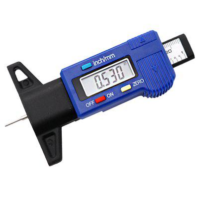 Digital Tire Gauge with LCD Display 0 - 25.4mm