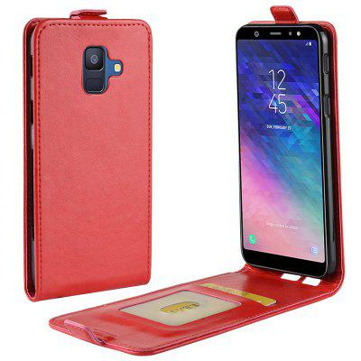 Full Covered PU + TPU Phone Case for Samsung Galaxy A6