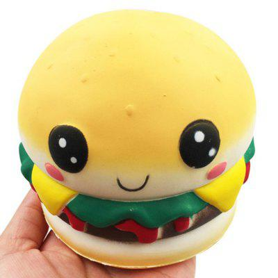 Gesichts Burger Squishy Toy