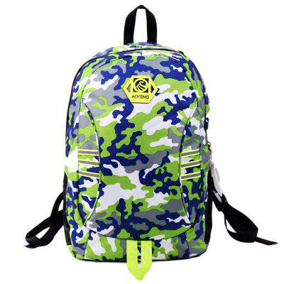 Camuflagem Travel Sport Backpack