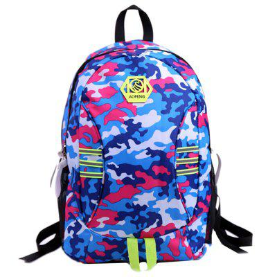 Camouflage Travel Sport Backpack