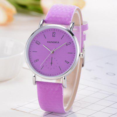 Women Color Change Waterproof Quartz Watch Pin Buckle