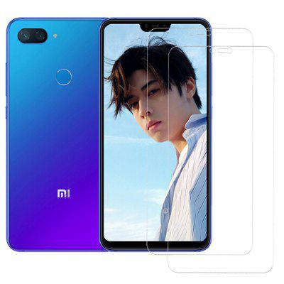 ASLING 0.26mm 9H 2.5D Arc Tempered Glass Screen Protector for Xiaomi Mi 8 Lite 2pcs