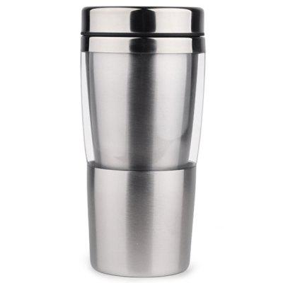 Heat Resistant Anti-shock Double-layer Stainless Steel Travel Mug