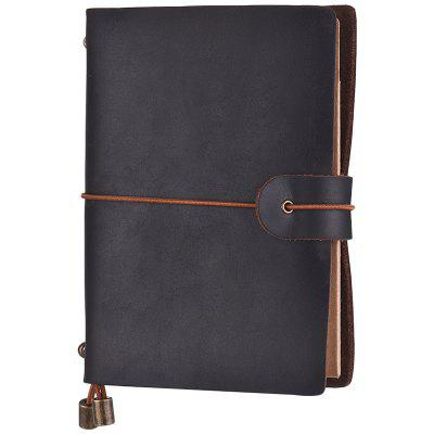 SP1354 Small Retro Business Leather Notebook