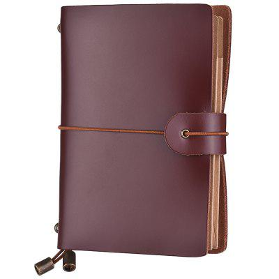 SP1356 Small Retro Business Leather Notebook