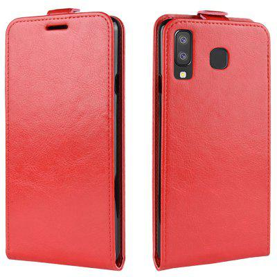 Full Covered PU + TPU Phone Case for Samsung Galaxy A9 Star / A8 Star