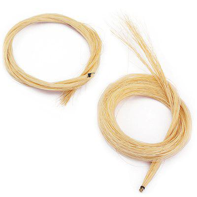 BA01 Violin Bow Hair 2PCS