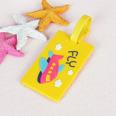 Cartoon Design PVC Luggage Tag Label