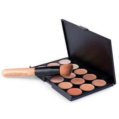 Z15 15-color Concealer with Oblique Head Brush
