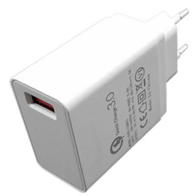 6802 One USB 3.0 Fast Charger EU Plug 1PC