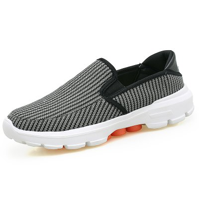 Men Breathable Casual Shoes Anti-slip Slip-on