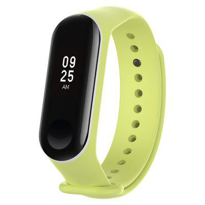 Double Color Anit-lost Watch Strap Watchband for Xiaomi Mi Band 3