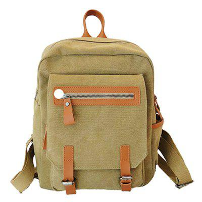 Literary Trend Female Backpack for Outdoor Travel