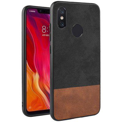 LuanKe Textured Simple Cellphone Case для Xiaomi 8