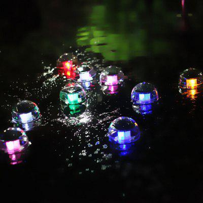 Solar Powered Swimming Pool Floating 7 Changing Color LED Landscape Floating Light