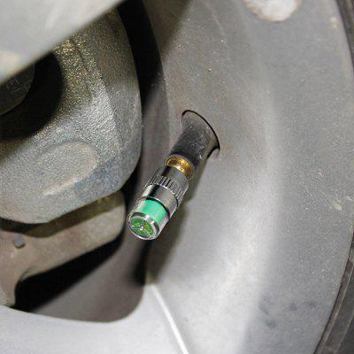 Car Tire Pressure Gauge Monitoring Nozzle 4pcs
