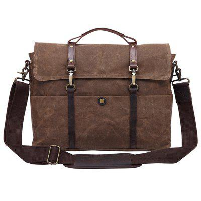 GFAVOR Men Fashion Briefcase Classic Handbag Durable
