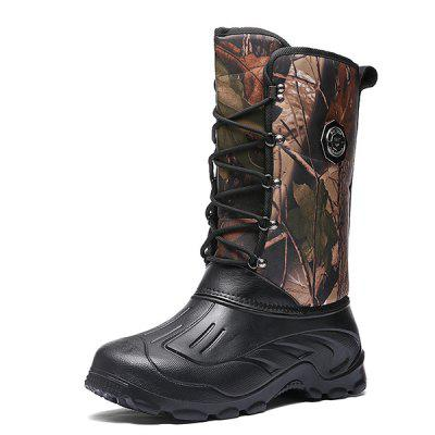 Men's Fashionable High Top Warm Boots