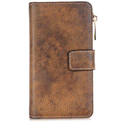 2 in 1 Magnetic Detachable Flip Wallet PU Leather for iPhone 6  Phone Case