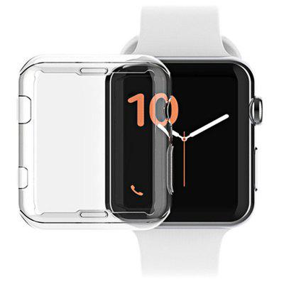 Capa Protetora Suave Ultra Fina Transparente para Apple Watch Séries 4