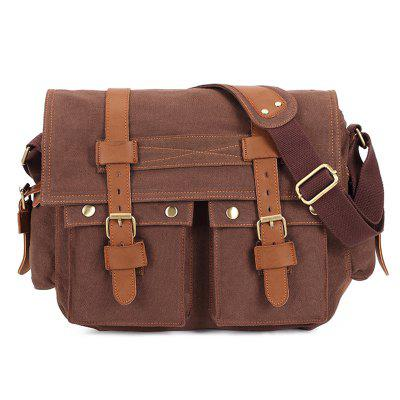 Kaukko K1003 Men Crossbody Bag Stylish Durable Canvas