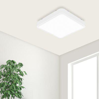 Yeelight Lâmpada LED Simple Quadrado de Tecto