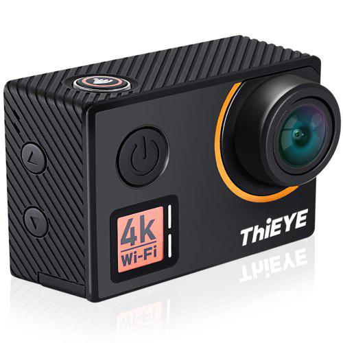 New Edition ThiEYE T5 Edge Live Stream Version Native 4K WiFi Action Camera