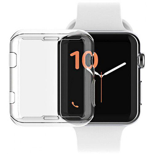 on sale 63d79 a404a Soft Protective Ultra Thin Clear TPU Case for Apple Watch Series 4