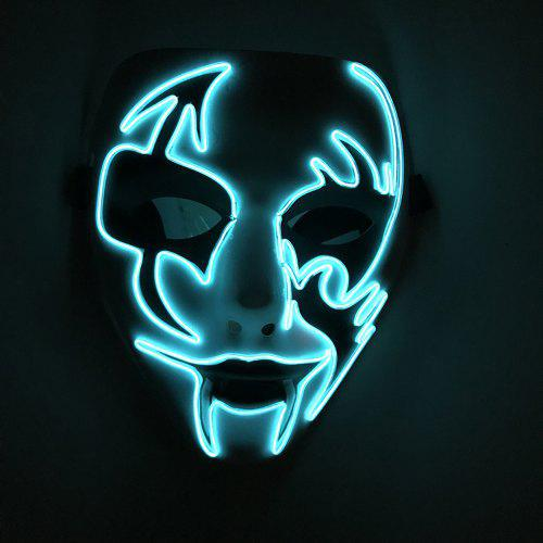 BRELONG Creative Glowing Mask for Halloween Party
