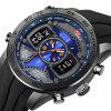 KAT - WACH 714 Digital Watch with Silicone Band - BLUE