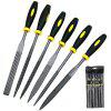 Professional Woodworking Rotary File 6PCS - BLACK
