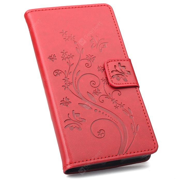 Flip Phone Case with Flowers Plating for Ulefone S8 Pro