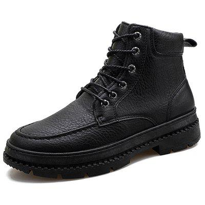 Men Boots Fashion High-top Lace-up Comfortable